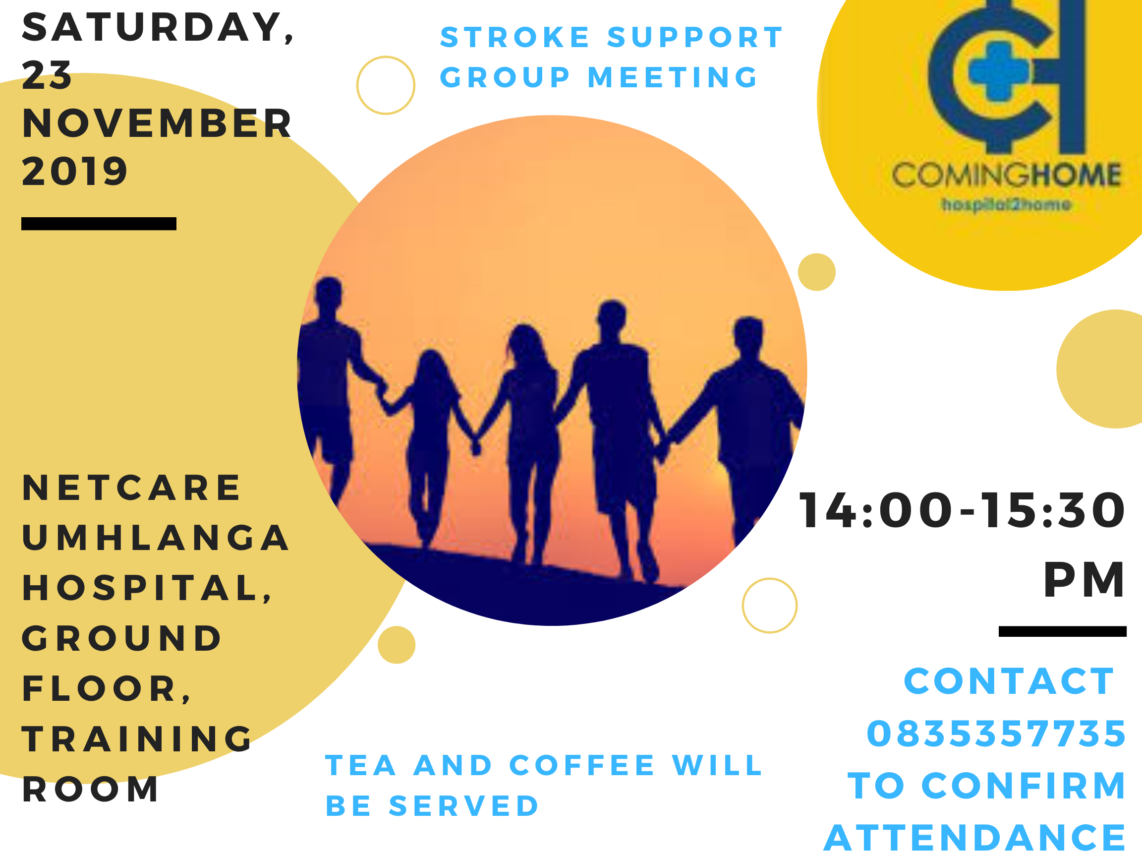 To provide support and encouragement to all stroke survivors